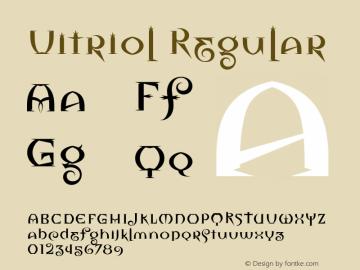 Vitriol Regular Version 1.00图片样张