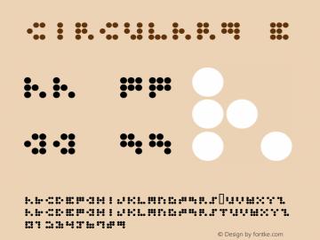 CIRCULAR9 E Macromedia Fon