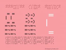 MMMteurs Cyber Regular 001.000 Font Sample