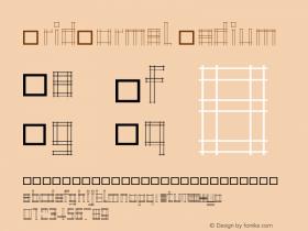 GridNormal Medium 001.001 Font Sample