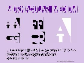 Yurnacular Medium 001.000 Font Sample