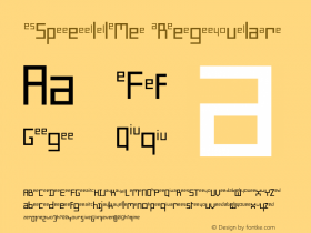 SpellMe Regular 001.000 Font Sample