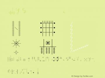 DIY Skeleton Regular 001.000 Font Sample