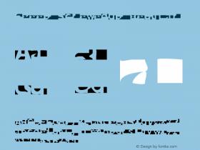 FPeep ScrewedUp Regular 001.000 Font Sample