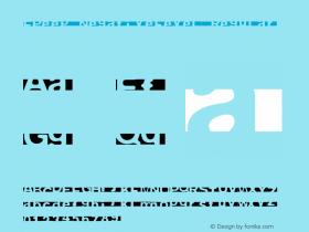 FPeep NegativeLevel Regular 001.000 Font Sample