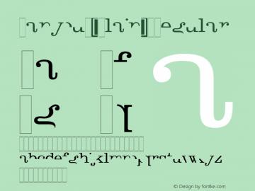 Canyou (Plain) Regular 001.001 Font Sample