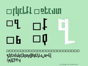 Schirft Medium 001.000 Font Sample