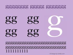 Religion Order Regular 001.000 Font Sample