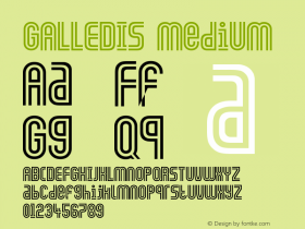 GALLEDIS Medium Version 001.001图片样张