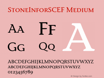 StoneInforSCEF Medium 001.000图片样张