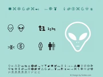 Nucleus Two Regular 001.000 Font Sample