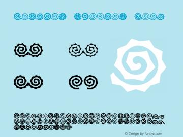 Altemus Spirals Bold 001.000 Font Sample