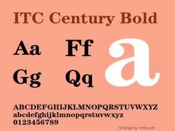 Itc machine bold font free