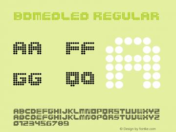 BDMedLed Regular 001.000图片样张