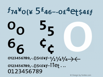 TheSans 5RegularExpert Version 1.0 Font Sample