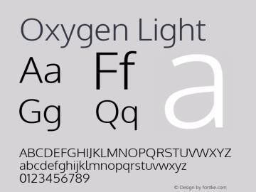 Oxygen Light Version Release 0.2.3 webfont; ttfautohint (v0.93.3-1d66) -l 8 -r 50 -G 200 -x 0 -w