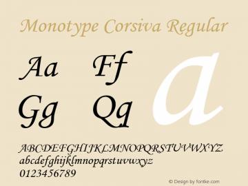 Monotype Corsiva Font,MonotypeCorsiva Font|Monotype Corsiva Version