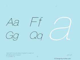 HelveticaObl-Thin Regular Converted from C:\EMSTT\ST000094.TF1 by ALLTYPE Font Sample