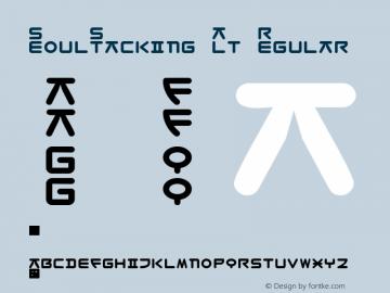SeoulStacking Alt Regular Macromedia Fontographer 4.1.3 8/23/03图片样张