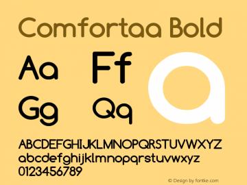 Comfortaa Font,Comfortaa Bold Font,Comfortaa-Bold Font