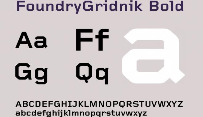 FoundryGridnik-Bold