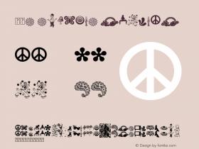 60s Symbols Regular Version 1.00 May 12, 2009, initial release Font Sample