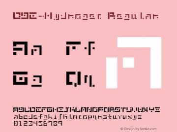 DBE-Hydrogen Regular Version 1.000图片样张