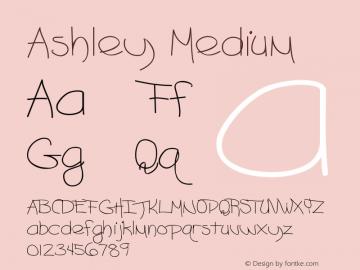 Ashley Medium Version 001.001图片样张