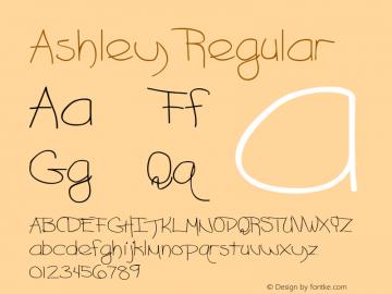 Ashley Regular Altsys Metamorphosis:8/18/91图片样张