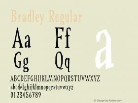 Bradley Regular Version 1.00图片样张