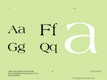 Agate-Normal Regular Converted from C:\WIN\SYSTEM\AGATE.TF1 by ALLTYPE Font Sample