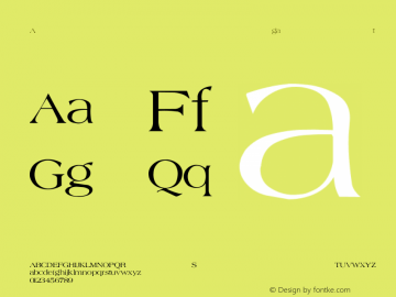 Agate-Normal Regular Converted from F:\WINDOWS\TTFONTS\AGATE.TF1 by ALLTYPE Font Sample