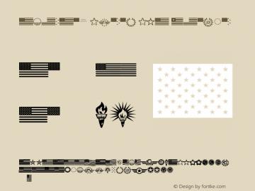 American Spirit STF Regular Version 1.0; 2001; initial release图片样张