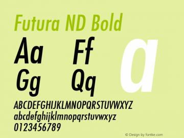 Futura ND Font,Futura ND Cn Medium Oblique Font,FuturaNDCn