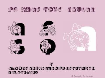pf_xmas_toys Regular 2001; 1.0, initial release图片样张