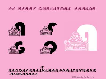 pf_merry_christmas Regular 2001; 1.0, initial release图片样张