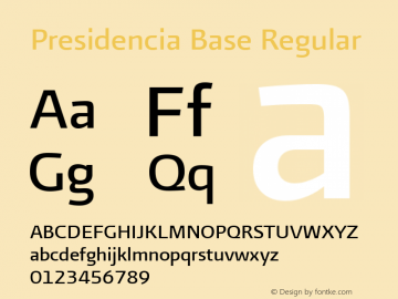 Presidencia Base Regular Version 001.000图片样张