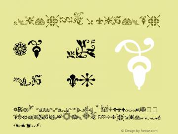 Fleurons Regular 001.000 Font Sample