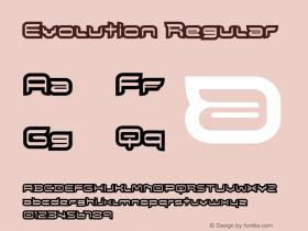 Evolution Regular Version 1.00图片样张