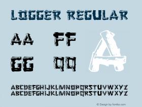 Logger Regular Altsys Metamorphosis:4/16/92 Font Sample