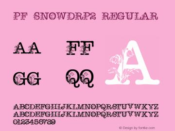 pf_snowdrp2 Regular 2001; 1.0, initial release图片样张