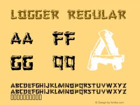 Logger Regular 001.021 Font Sample