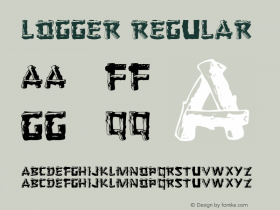 Logger Regular 001.000 Font Sample