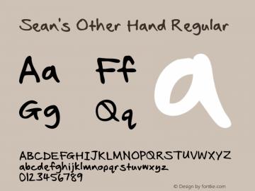 Sean's Other Hand Regular Version 2.00 October 14, 2010图片样张