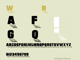 Wharmby Regular Converted from w:\ttf\WHARMBY.TF1 by ALLTYPE Font Sample