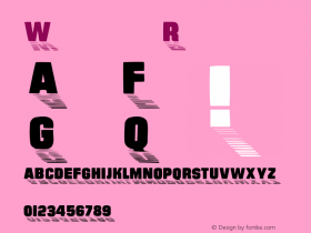 Wharmby Regular Converted from C:\TTFONTS\WHARMBY.TF1 by ALLTYPE Font Sample