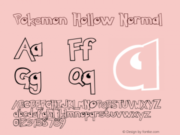 Pokemon Hollow Normal Unknown图片样张