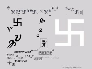 TibetanMachineSkt4 Regular Version 1.10; 2000 Font Sample