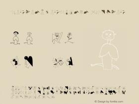 KarlasAnarchists Regular Macromedia Fontographer 4.1.3 25.05.2003图片样张