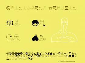 Characters Regular 1.0 2003-06-03图片样张